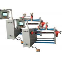 China Two Winding Spindle Automatic Coil Winding Machine With 7.5kw Motor Driving on sale