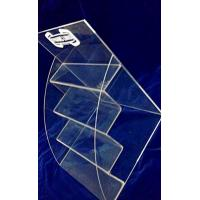 China 4 Tiers 3mm Acrylic Stationery Holder Transparent for Umbrella Magazine wholesale