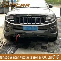 China Steel Material 4X4 Off-Road Accessories Front Bumper Bull Bar For Cherokee 2014+ wholesale