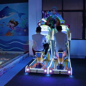 China Single Player Virtual Reality Simulator / Bicycle Driving Game Machine wholesale