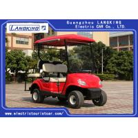 China 4 Wheel Mini Electric Car Golf Cart With 2 Rear Seats Powered By 48V free Maintenance battery 8V*6PCS on sale