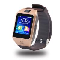 Buy cheap China supply bluetooth 3.0 1.44 Touch Scree call phone watch dz09s sim card from wholesalers