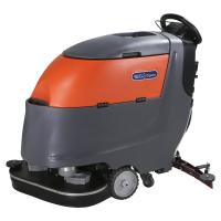 China Two Brushes Battery Powered Compact Floor Scrubber Cleaning Machine High Efficiency wholesale