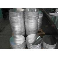 China 1100 Grade Cookware Aluminum Circles , Utensils Aluminium Circle Plate wholesale