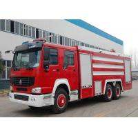 China 20CBM LHD 6X4 Fire Fighting Truck , Emergency Foam Fire Rescue Trucks wholesale