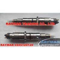China BOSCH common rail injector 0445120120 for Cummins 4945807, Ford BG7X-9K526-AA wholesale