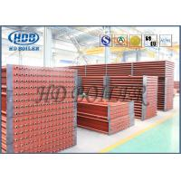 China High Corrosion Fuel Gas Boiler Fin Tube Economizer For Heat Reovery Systems wholesale