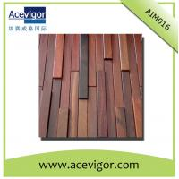 China Rectangle wall mosaic tiles with uneven surface for interior wall decoration wholesale