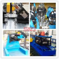 China Customized steel frame Z shape purline roll forming S&G machinery, Working efficiency: 0-25m/min wholesale