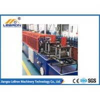 China PLC Control Door Frame Roll Forming Machine Servo Guiding Device Full Automatic wholesale