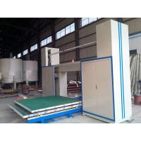 China Horizontal CNC Foam Cutter Machine With Oscillating Blade For Special Shape Foam wholesale