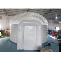 China Waterproof Lawn Dome 0.7mm  Inflatable Igloo Tent wholesale