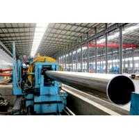 China Round Mild steel black pipe , Q235 / A53 gr. B erw welding pipe wholesale