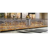 Quality Custom Beautiful Stainless Steel Stair Railing With 850MM Height for sale