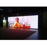 China High Refresh ultra thin Led Panel Video Wall for Exhibition , 128*128 Cabinet Resolution wholesale