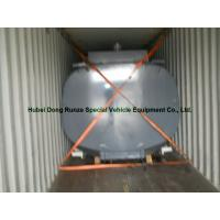 China High Strength 17500L Hcl Cargo Hydrochloric Acid Tank For Chemical Truck Body on sale