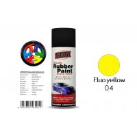 China Fluo Yellow Color Spray Paint Remover 12pcs / Ctn For Car Coating wholesale