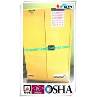 Grounding Flammable Storage Cabinets With Double Shelf For Dangerous Goods