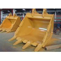 Quality Reinforced 5.2 CBM Excavator Swivel Bucket Wearable Steel For CAT385 Excavator for sale