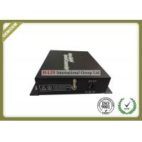 China 1 Channel Video Digital Optical Converter With BNC FC Port For CCTV Cameras wholesale