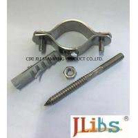 China Thickness 2.5mm Stainless Steel Pipe Clamps Hanger Bolt  Paper Carton Package on sale