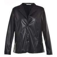 China Autumn Or Winter Long Sleeve Ladies PU Jackets; Adults Street Motorcycle Jacket on sale