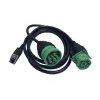China Green Deutsch J1939 Y Cable Durable PA66 And Glass Fiber Connector wholesale