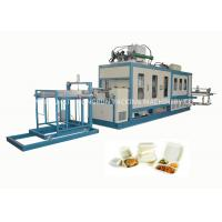 China EPS Foam Food Container Forming and Cutting Machine 750 / 1000mm on sale