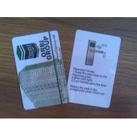 China 125KHz / 13.56MHz PVC blank plastic cards for access control long read range wholesale