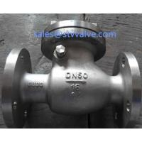China PN16 Hastelloy C4 Check valve,full Port,RF on sale