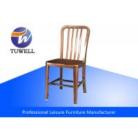 China Modern Leisure Room Emeco Aluminum Navy Chairs With Powder Coating , Home Furniture wholesale