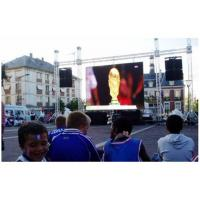 China Stage Outdoor Led Screen Rental , Full Color Hanging Led Display P5 Led Matrix For Event wholesale