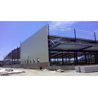 China Custom Residential Industrial Steel Structures , Sandwich Panels Light Steel Structure Warehouse wholesale