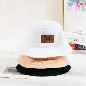 China Customization Adults 56cm White Fisherman Bucket Hat wholesale