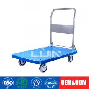 China 200 - 250Kg Loading Platform Hand Trolley / flatbed hand truck wholesale