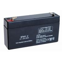 Buy cheap 6v 1.2ah Self-discharge Valve Regulated Lead Acid Battery Sealed for Medical Instruments & Meters from wholesalers