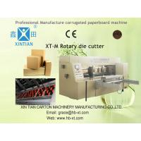 Quality Automatic Rotary Paper Die Cutting Machine For Corrugated With Electronic Digital Control for sale