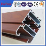 China New! supply aluminum alloy 6063 t5 decorative aluminum sheet wood aluminum panels for wall wholesale