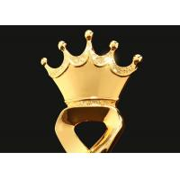 32cm Height Polyresin Trophy With Crown On The Top Custom Size & Color Available