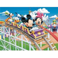 China High Glossy Surface Bamboo Fiber Board Cartoon Mickey And Donald Fireproof wholesale