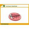 Vivid Pink Scroll Ceramic Poker Chips Heavy European Poker Chips for sale