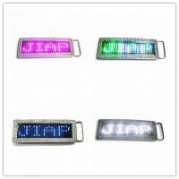 China Programmable LED Belt Buckle for Sale wholesale