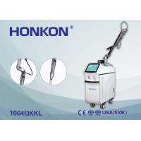 China HONKON 6ns Pulse Width Pigment Therapy Q Switch Nd YAG Laser Machine for Tattoo Removal on sale
