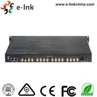 China 16 Port Ethernet Over Coax Converter , Coaxial Cable To Ethernet Adapter Converter wholesale