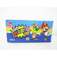 China Super Mario CC Stick Candy With Lovely 3D Super Mario Pictures Toy wholesale