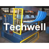 China PLC Frequency Control / 500mm Curving Radius Crimping Curving Machine wholesale