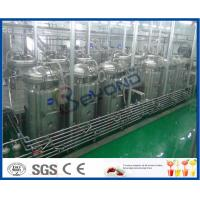 China Tubular UHT Sterilizing Mango Processing Line With Aseptic Filling Machine on sale