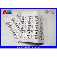 China 2ml Sterile Injection Steroid Bottle Labels Waterproof Strong Adhesive Vial Label Printer wholesale