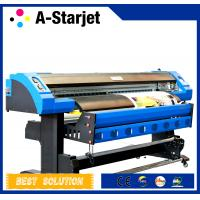 Quality Semi Automatic Digital Large Format Solvent Printer With DX7 Print Head for sale