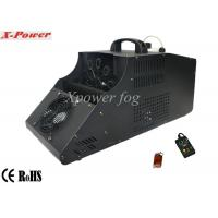 China 110 - 130v Single Wheel Stage Fog Machine , 8m Output Distance wholesale
